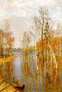 И. И. Левитан  Весна - большая вода